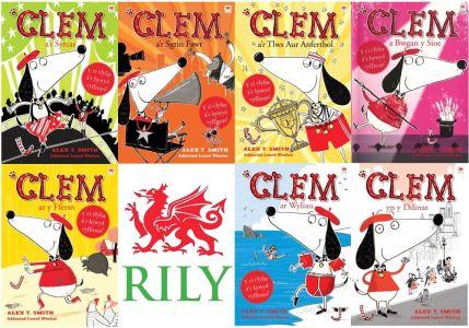 Pecyn Llawn Cyfres Clem: 1-7
