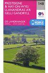 O.S. Landranger 148 Presteigne and Hay-On-Wye/Llanandras a'r Gelli Gandryll