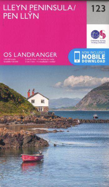 O.S. Landranger 123 Lleyn Peninsula/Pen Llyn