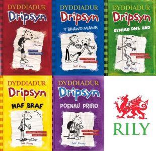 Pecyn Dyddiadur Dripsyn: 1-5