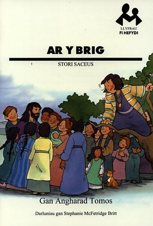 Llyfrau Fi Hefyd: Ar y Brig - Stori Saceus