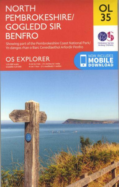 OS North Pembrokeshire/Gogledd Sir Benfro OL 35