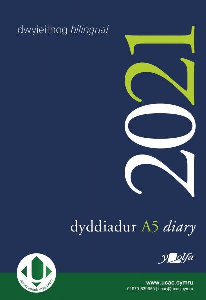 Dyddiadur A5 y Lolfa 2021