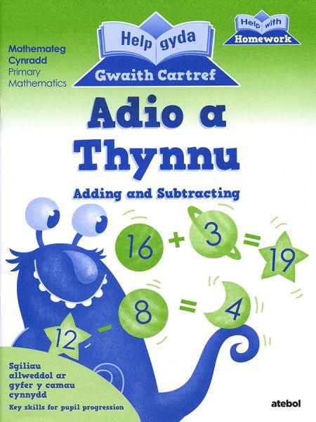 Help gyda Gwaith Cartref - Adio a Thynnu