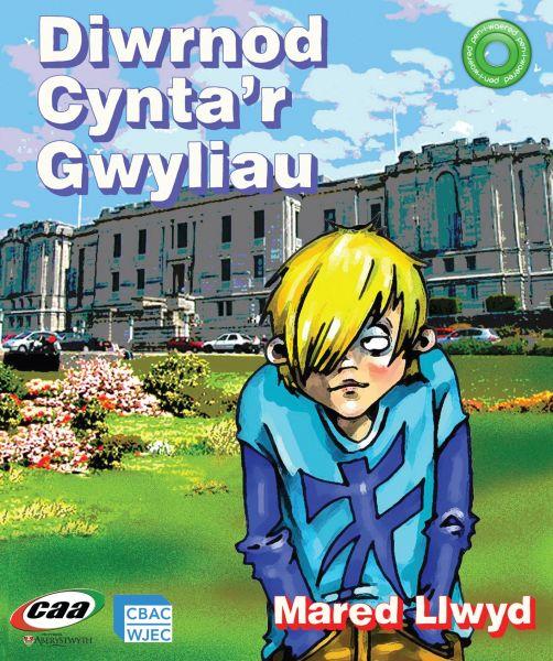 Pen-i-Waered: Llyfrgell Genedlaethol Cymru/Diwrnod Cynta'r Gwyliau
