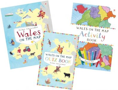 Wales on the Map Pack (3 Book Set)