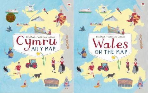Pecyn Cymru ar y Map / Wales on the Map Pack