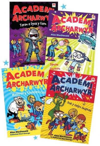 Pecyn Cyfres Academi Archarwyr