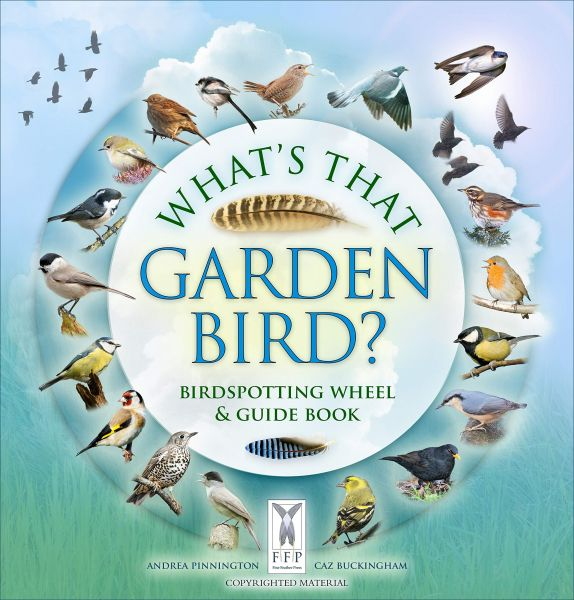 What's That Garden Bird? - Birdspotting Wheel and Guide Book