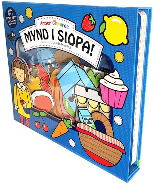 Amser Chwarae: Mynd i Siopa / Let's Pretend: Let's Go Shopping