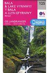 O.S. Landranger 125 Bala and Lake Vyrnwy, Berwyn /Y Bala a Llyn Efyrnwy, Berwyn