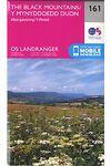 O.S. Landranger 161 the Black Mountains, Abergavenny /Y Mynyddoedd Duon, Y Fenni