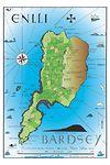 Map Ynys Enlli / Bardsey Island Map