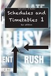 Schedules and Timetables 1