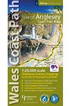 Official Guides Series - Wales Coast Path: Isle of Anglesey Coast Path Map