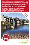 Gogledd Canolbarth Cymru/ Mid-Wales North Cycle Map