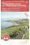 De Canolbarth Cymru / Mid Wales South Cycle Map