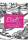 Helen Elliott Concertina Colouring Book: North Pembrokeshire
