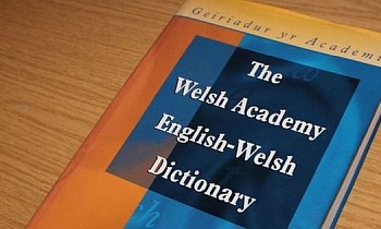 photo of welsh dictionary