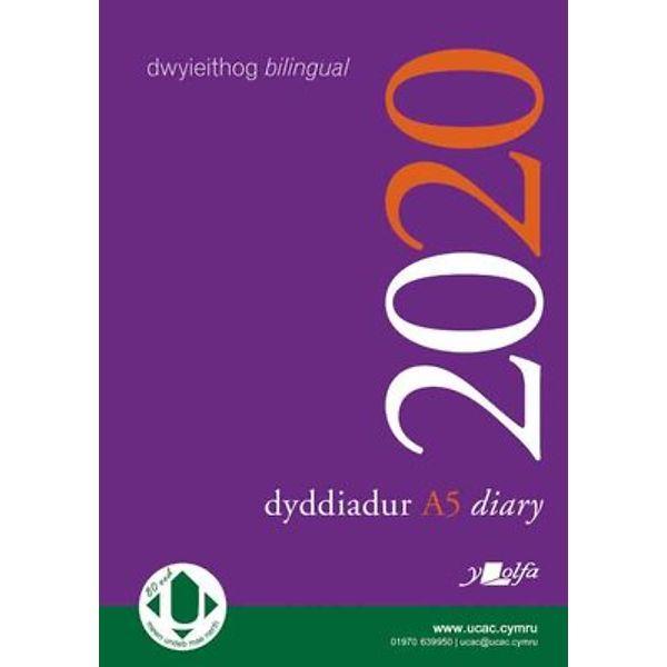Dyddiadur Addysg 2020 A5