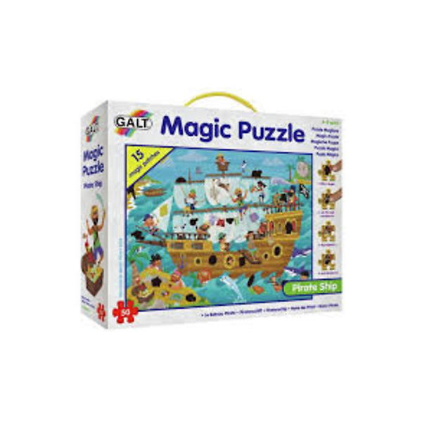 Magic Puzzle Pirate Ship