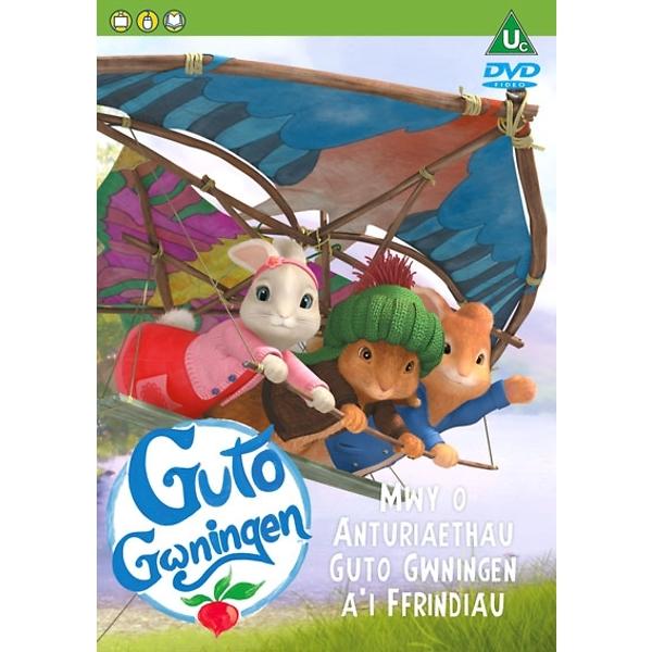 DVD - Mwy o anturiaethau Guto Gwningen a'i Ffrindiau