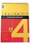 Daler Rowney series A spiral pad A4 red/yellow